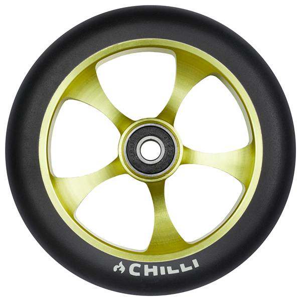 Chilli Wheel, rebel-lime, 120 mm