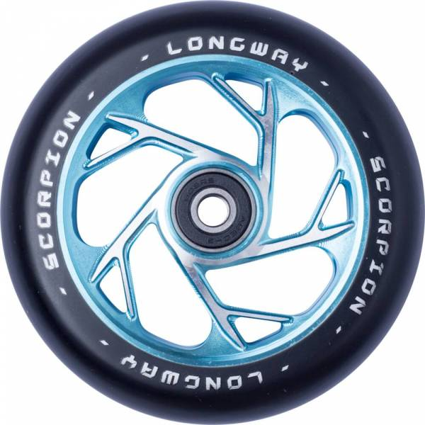 Longway Scorpion Wheel 110 mm - teal