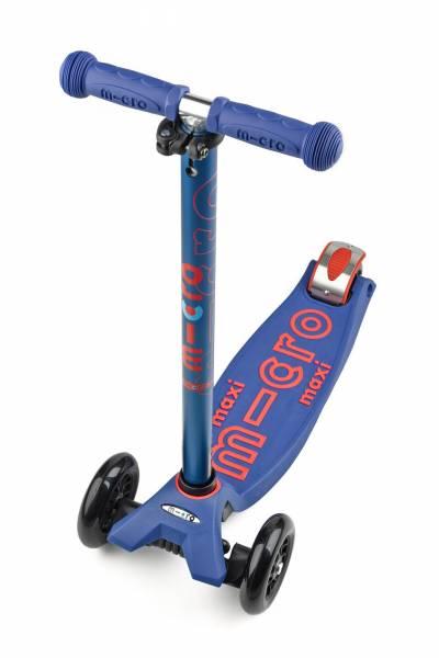 Micro Maxi deluxe mit T-Lenker, blau