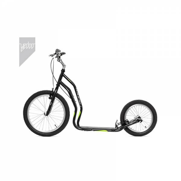 Yedoo New Mezeq, V-Brake, 20/16, black-green