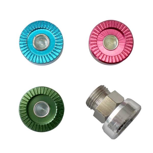 Micro Druckknopf, silber