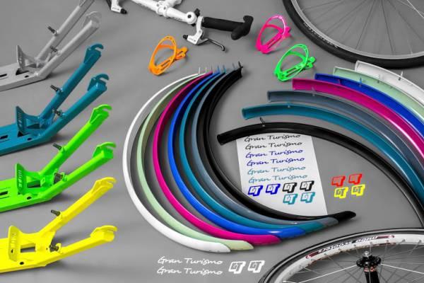 Mibo Schutzblech-Set für GT, blau
