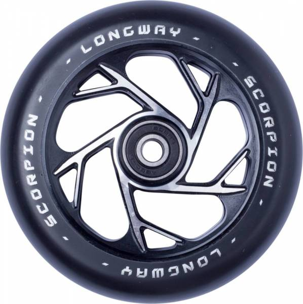 Longway Scorpion Wheel 110 mm - black