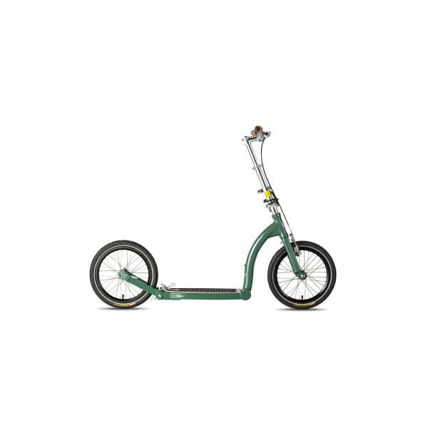 SwiftyONE MK3, faltbarer Kick Scooter in forest green
