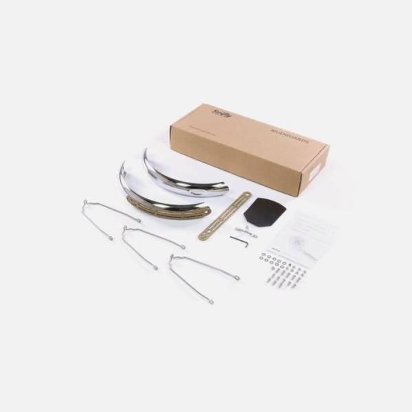 Swifty Schutzblech-Set, steel, silver für Modell ONE