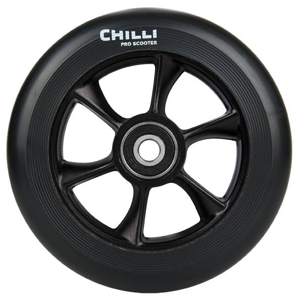 Chilli Turbo Wheel, black-black, 110 mm