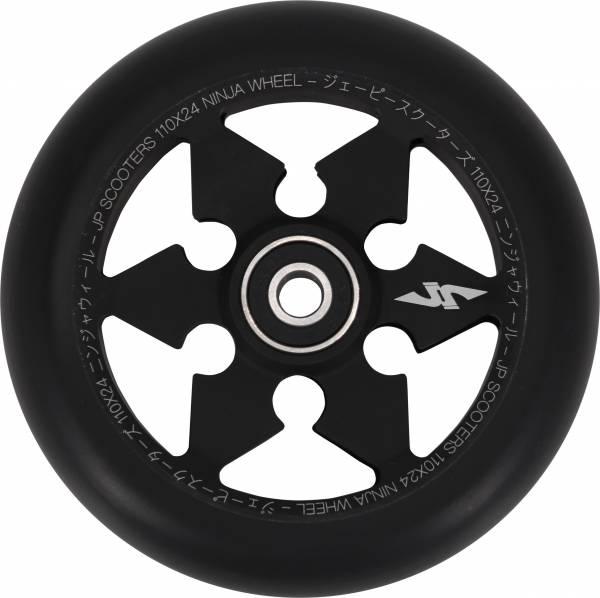 JP Ninja 6-Spoke Stunt Scooter Rolle - black