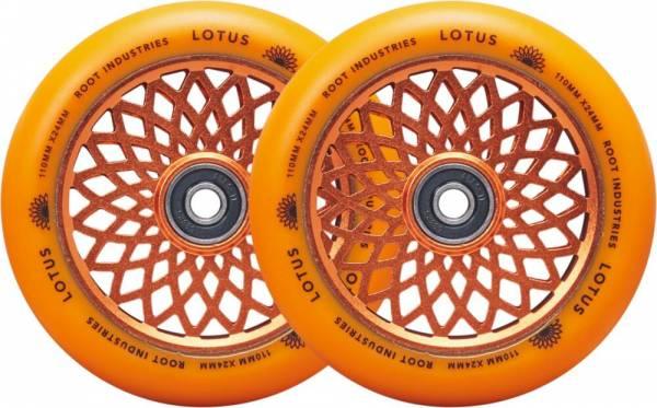 Root Industries Lotus Wheels 110 mm - orange