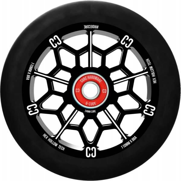 Core Hex Hollow Wheel 110, black