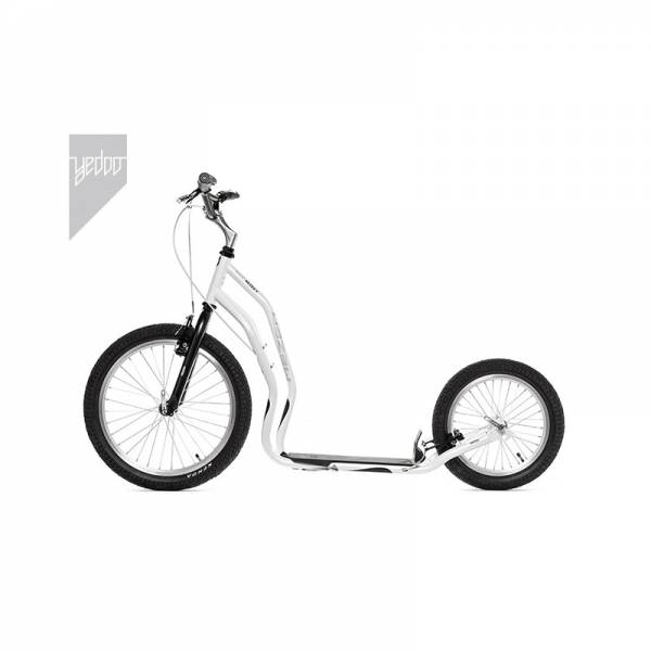 Yedoo New Mezeq, V-Brake, 20/16, white-black