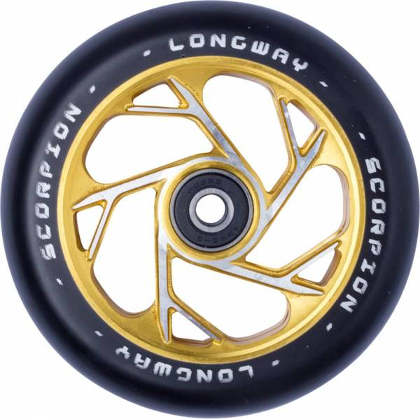 Longway Scorpion Wheel 110 mm - gold