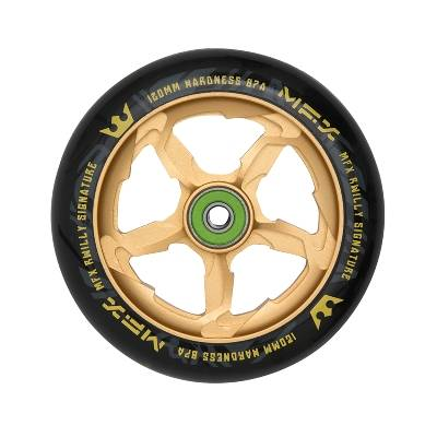 MGP MFX Wheel RWilly Signature, gold, 120 mm