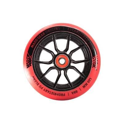 MGP Syndicate AR-120 mm Alu Core Wheel - red